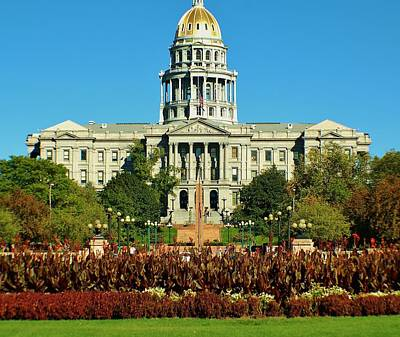 Photograph - Colorado State Capitol by Christopher James