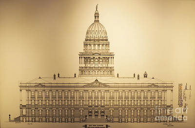 Photograph - Colorado State Capitol by Steven Parker