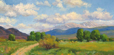 Colorado Summer Art Print by Bunny Oliver