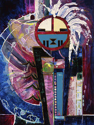 Painting - Colorado Sungod Large by Connie Williams