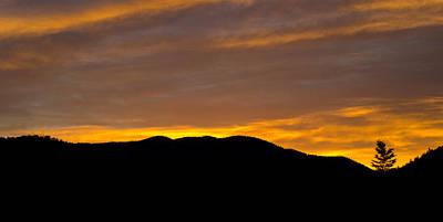 Colorado Sunrise Print by Brendan Reals