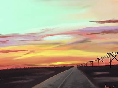Digital Art - Colorado Sunrise by Gerry Morgan