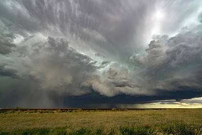 Colorado Supercell Art Print by James Hammett