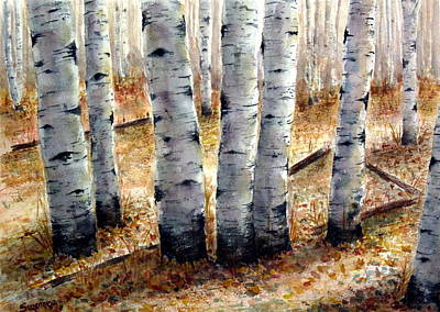 Painting - Colorado Trail by Suzanne Krueger