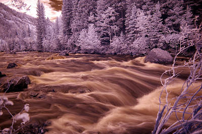Photograph - Colorado Water In Ir by Thomas Bomstad