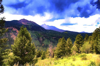 Photograph - Colorado Watercolor by James Bethanis
