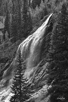 Photograph - Colorado Waterfall by Nathan Little