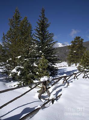 Colorado Winter Wonderland Art Print