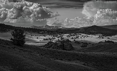 Photograph - Coloradoclouds Over Rocky Mountain National Park by Ray Van Gundy