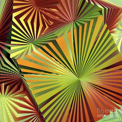 Incendia Digital Art - Colored Box Abstract by Deborah Benoit