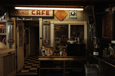 Photograph - Colored Cafe by Roland Peachie