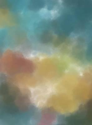 Painting - Colored Clouds by Dan Sproul