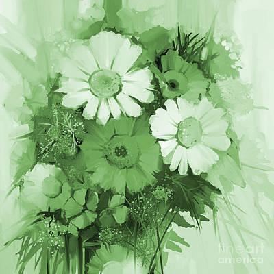 Colored Flowers  Original