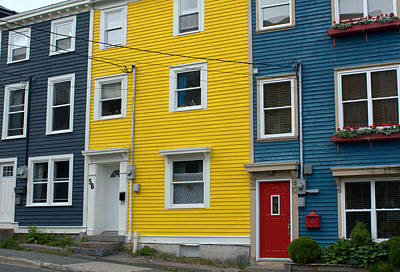 Photograph - Colored Houses by Douglas Pike