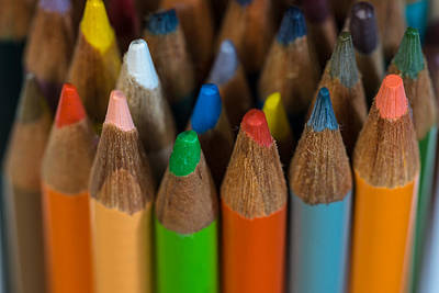 Photograph - Colored Pencils by Randy Walton