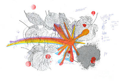 Everyday Life Drawing - Colored Street. 22 September, 2015 by Tatiana Chernyavskaya