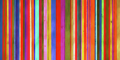 Painting - Colored Wood Panels Vertical by Dan Sproul