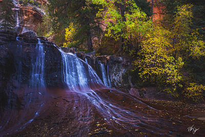 Colorfalls Print by Peter Coskun