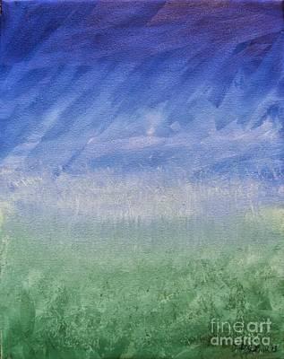 Wall Art - Painting - Colorfield 2 by Debra Link