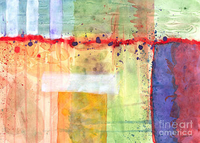 Painting - Colorfields Watercolor by Kristen Fox