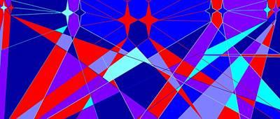 Colorful 1 Art Print by Linda Velasquez