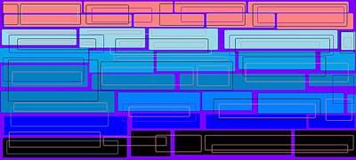 Digital Art - Colorful 4 by Linda Velasquez