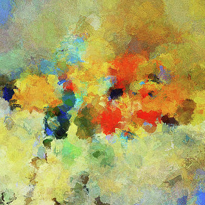 Painting - Colorful Abstract Art - Abstract Landscape by Inspirowl Design