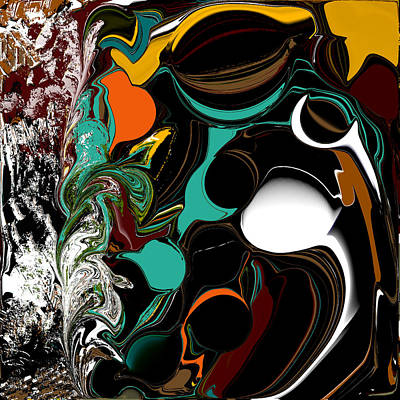 Digital Art - Colorful Abstract by Jessica Wright