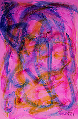 Colorful Abstract Art Print by Natalie Holland