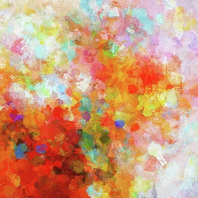 Painting - Colorful Abstract Painting by Inspirowl Design