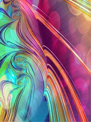 Painting - Colorful Abstract Painting by Gabriella Weninger - David