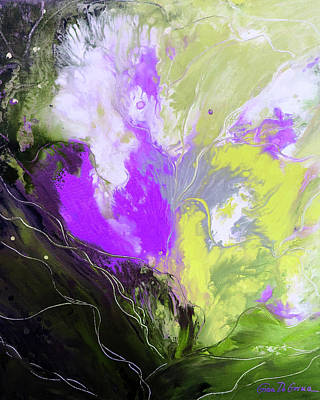 Painting - Colorful Abstract Painting by Gina De Gorna