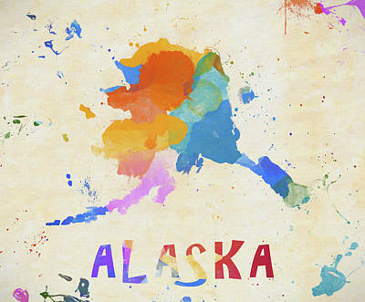 Painting - Colorful Alaska by Dan Sproul