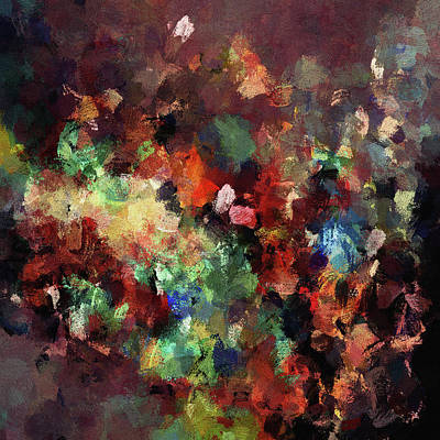 Painting - Colorful And Modern Abstract Painting by Inspirowl Design