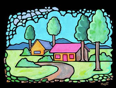Houses And Trees Original