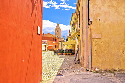 Photograph - Colorful Architecture Of Historic Town Of Nin by Brch Photography