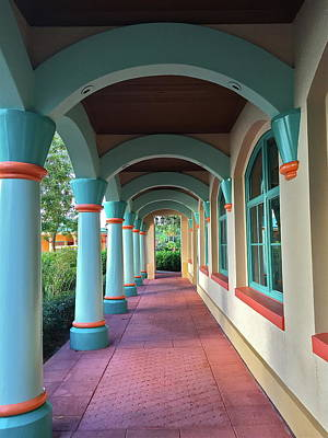 Photograph - Colorful Archway by Denise Mazzocco