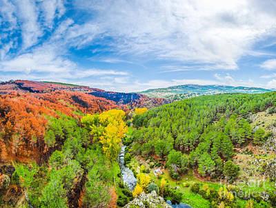 Photograph - Colorful Autumn Landscape by JR Photography
