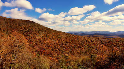 Photograph - Colorful Autumn Panorama - West Virginia by L O C