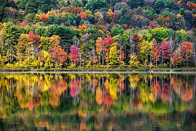 Photograph - Colorful Autumn Reflections by Christina Rollo