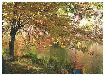 Photograph - Colorful Autumn Under Glass by Margie Avellino