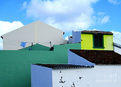 Photograph - Colorful Azores by Randall Weidner