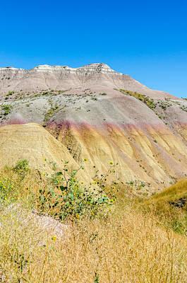 Photograph - Colorful Badlands Of South Dakota by Debra Martz