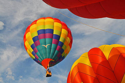 Photograph - Colorful Balloon No 1 by Mike Martin