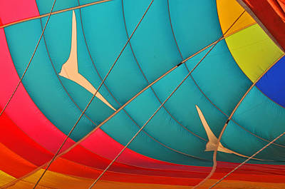 Photograph - Colorful Balloon No 2 by Mike Martin