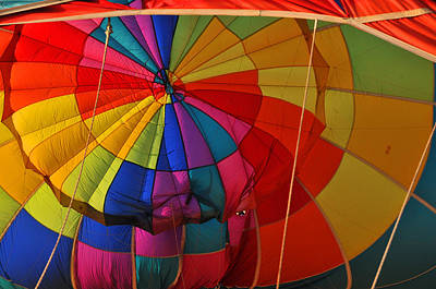 Photograph - Colorful Balloon No 3 by Mike Martin