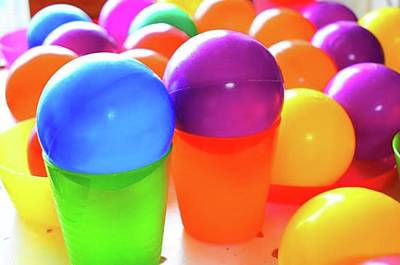 Pop Art Wall Art - Photograph - Colorful Balls Set By My Little by Yuuji Agou