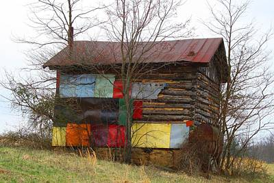 Photograph - Colorful Barn by Kathryn Meyer