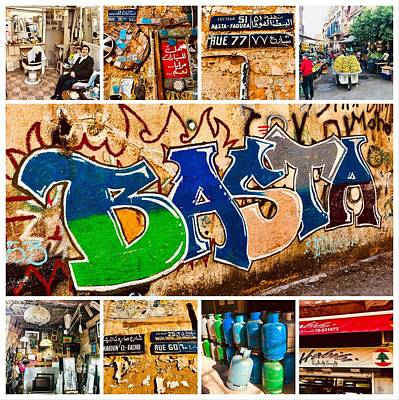 Photograph - Colorful Basta In Beirut by Funkpix Photo Hunter