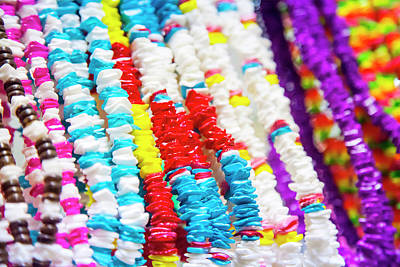 Photograph - Colorful Beads by Toni Hopper